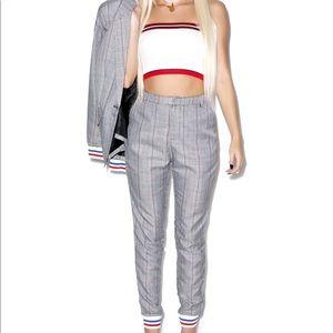 Trippi Plaid Trousers SET // PANTS + BLAZER